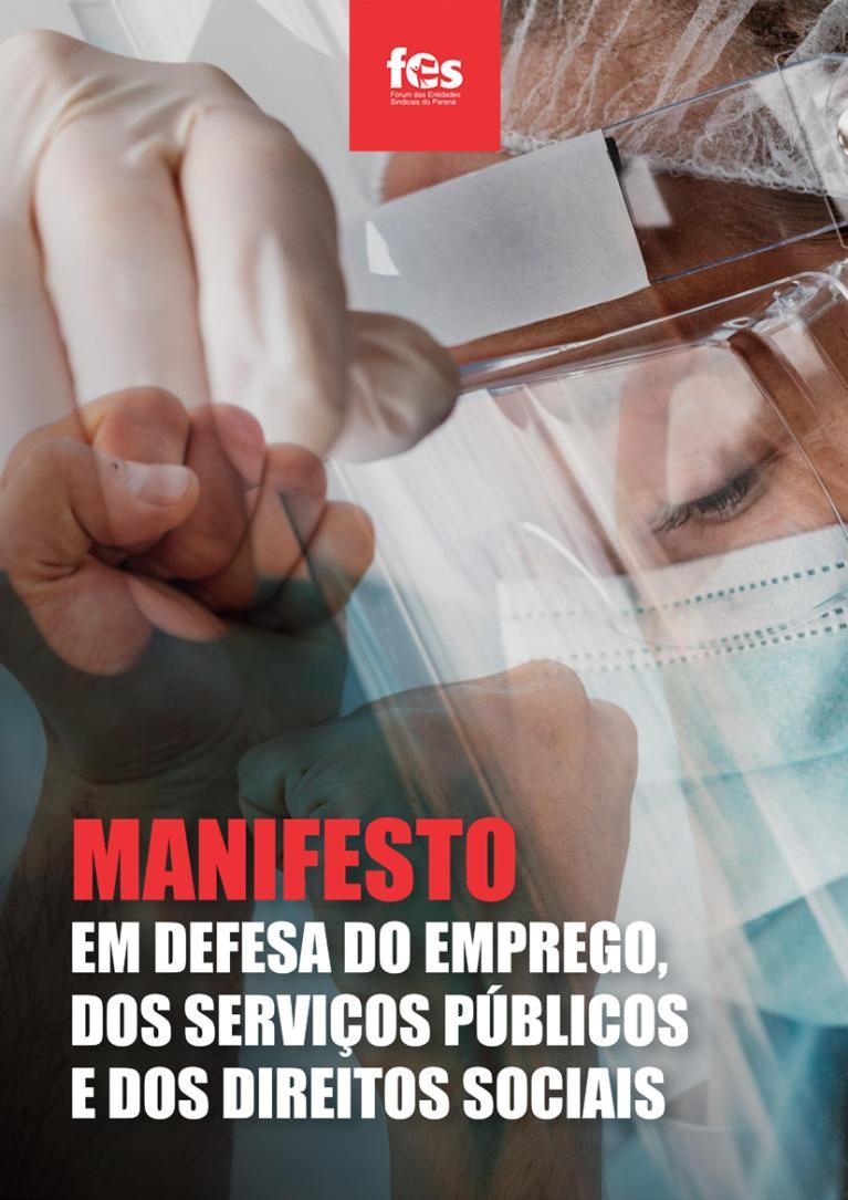 FES lança Manifesto em Defesa do Emprego, dos Serviços Públicos e dos Direitos Sociais