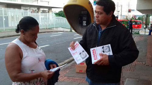 SINDICATOS ORGANIZAM MANIFESTAÇÃO CONTRA REFORMAS TRABALHISTAS